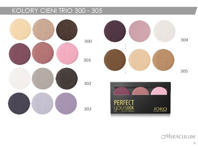 Joko Cienie trio Perfect Your Look nr 305