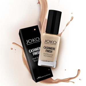 Joko Podkład Cashmere Finish Mat & Cover Foundation J149 natural  30ml