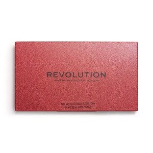 Makeup Revolution Precious Stone Paleta Cieni do Powiek Ruby Crush