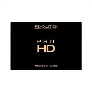 Makeup Revolution Pro HD Palette Amplified 35 Zestaw cieni do powiek Shimmer Direction 30g (35 kolorów)
