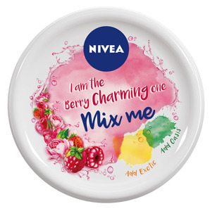 Nivea Soft Mix Me Krem nawilżający do twarzy i ciała I Am the Berry Charming One  100ml