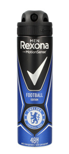 Rexona Motion Sense Men Football Edition Dezodorant spray Chelsea Football Club  150ml