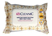Cleanic Intimate Nawilżany papier toaletowy 1op.-60szt