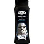 On Line Men Żel pod prysznic 2w1 Star Wars Refreshing  400ml