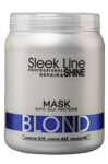 Stapiz Sleek Line Blond Maska do włosów 1000ml